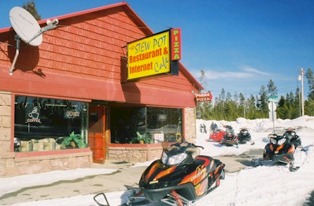 Yellowstone Pizza and Internet Cafe