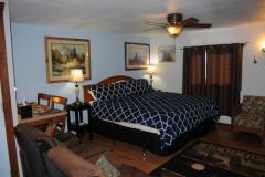 West Yellowstone motel room
