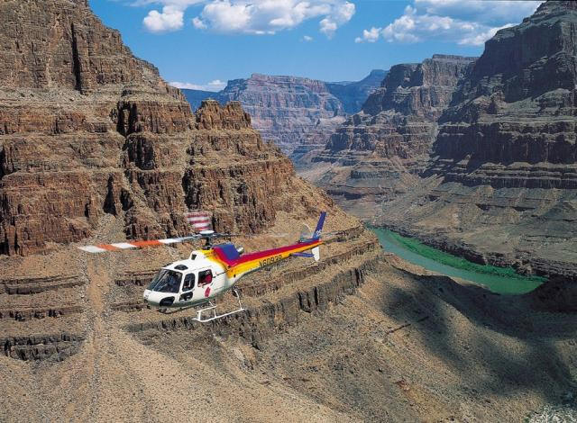 Las Vegas To The Grand Canyon By Helicopter