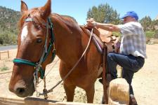 Horseback riding on your Grand Canyon trip