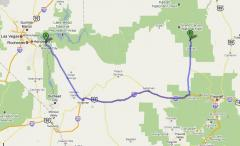 Arches National Park Tour From Las Vegas - Las vegas grand canyon map