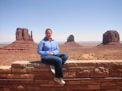 The mittens at Monument Valley