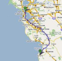 San Francisco To Los Angeles One Day Tour Along The Pacific Coast