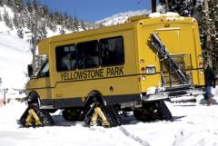 Yellowstone winter snowcoach